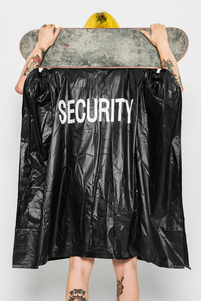 Security Raincoat Poncho