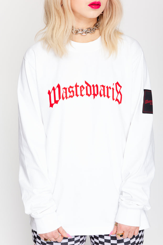 Bridge Long Sleeve Tee White