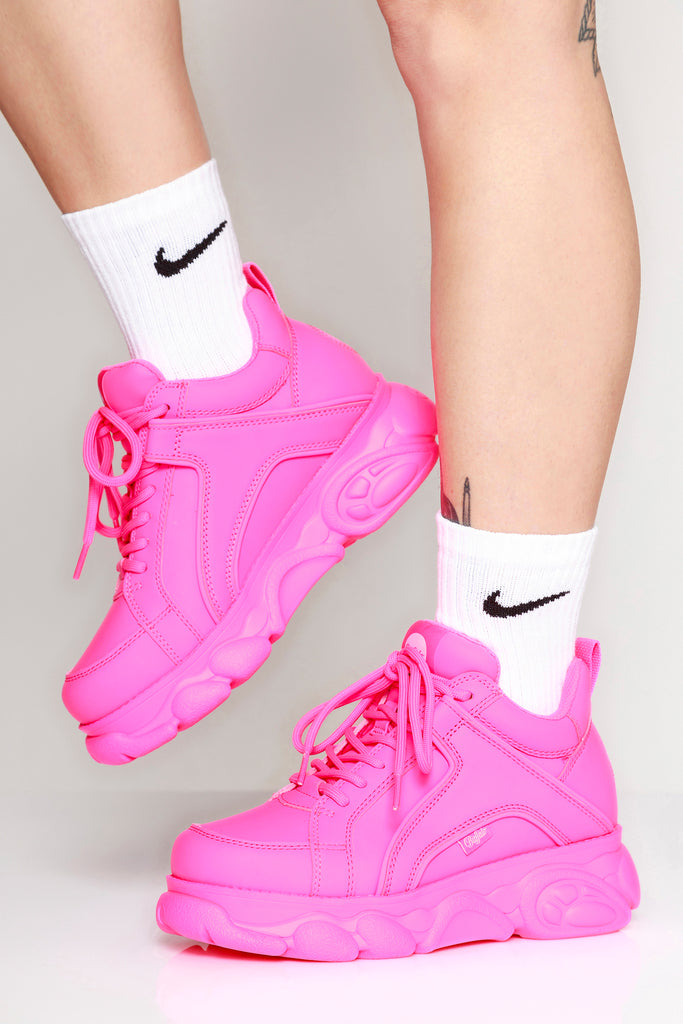 quality design 8bbc5 1be8c Corin Sneakers Neon Pink