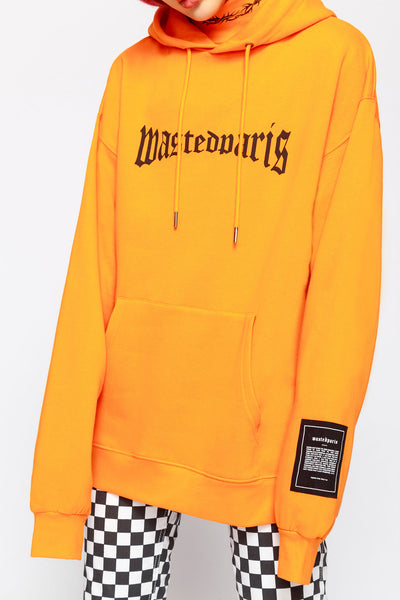 London Hoodie Orange