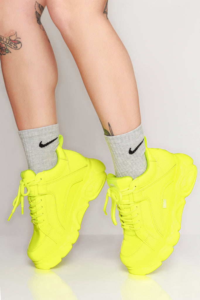 Corin Sneakers Neon Yellow