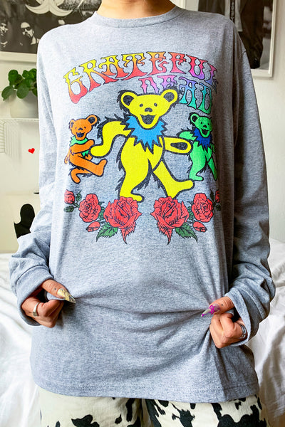 The Grateful Dead Long Sleeve Tee