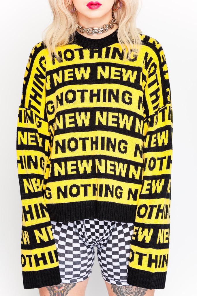Nothing New Knit