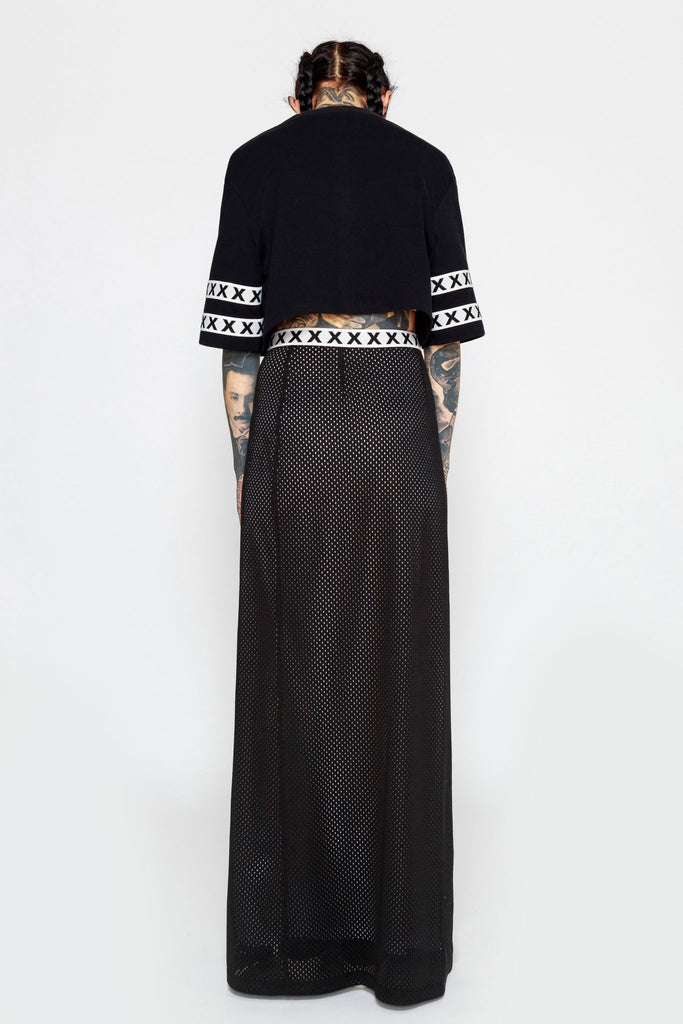 Wrap Around Maxi Skirt