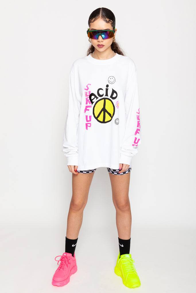Surf Up Long Sleeve Tee