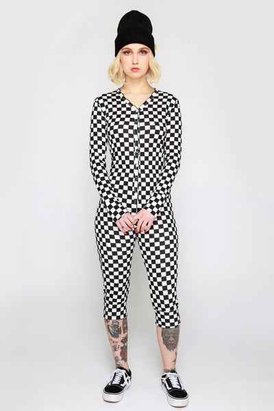 Checkered Past Onesie