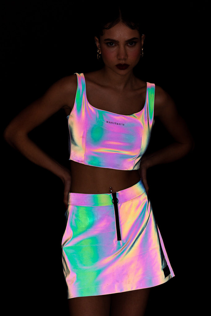 Rainbow Reflective Tank Top