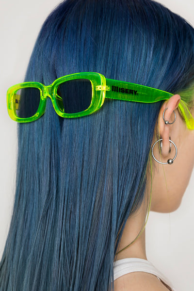 Slime Rectangle Sunglasses