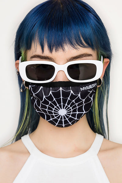 Spider Web Face Mask