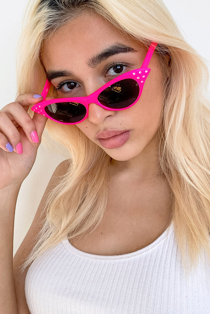 Daddy's Girl Rhinestone Sunglasses