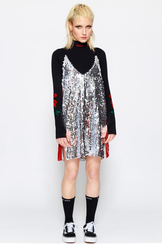 Sauce Sequin Dress