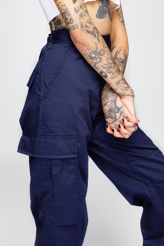 Feelin' Nauti Blue Cargo Pants
