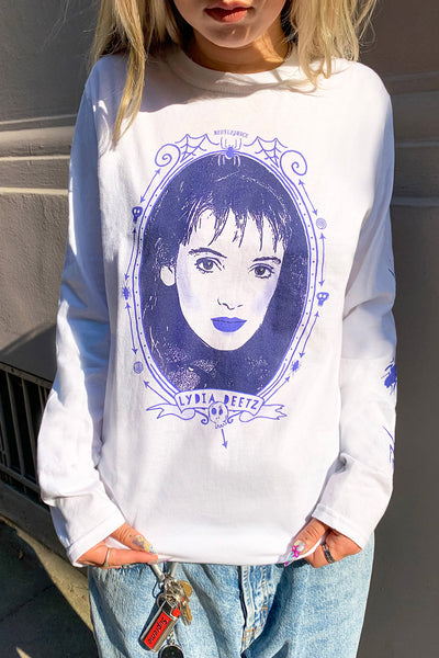 Beetlejuice Lydia Long Sleeve Tee
