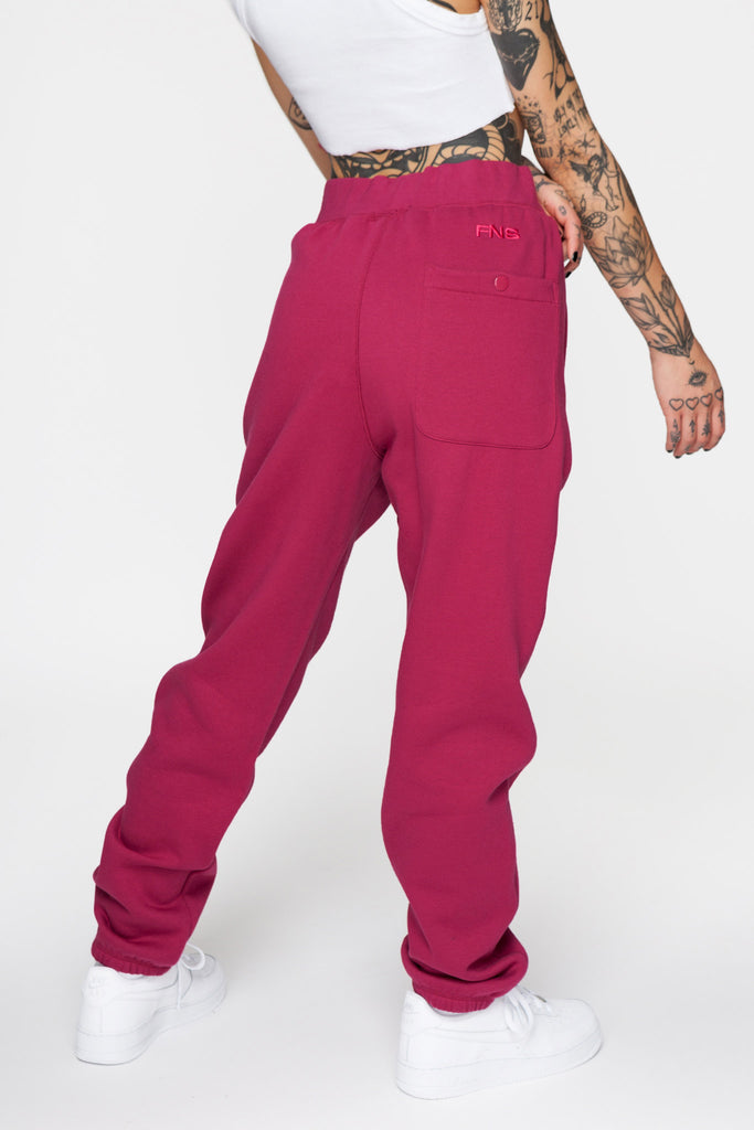 Premium Sweatpants Berry