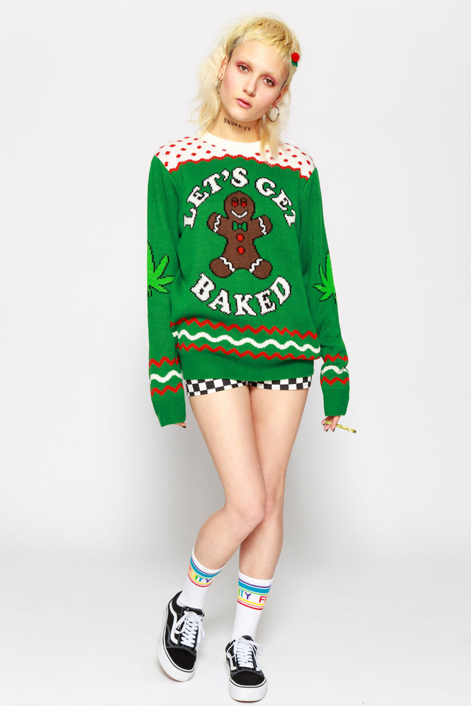 Let's Get Baked Sweater