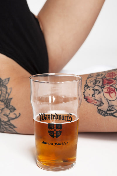 Always Faithful Pint Glass