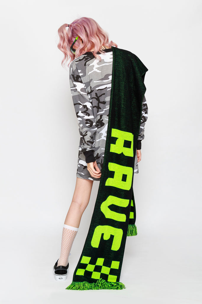 Toxic Rave BigAss Scarf