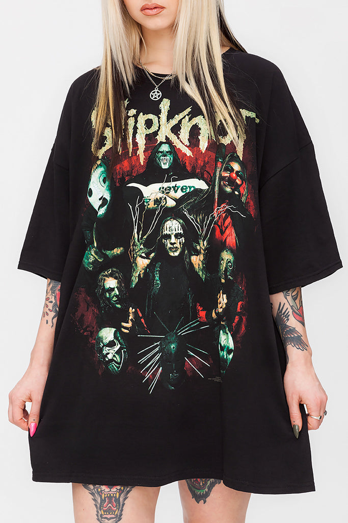 Slipknot Play Dying Oversized Tee