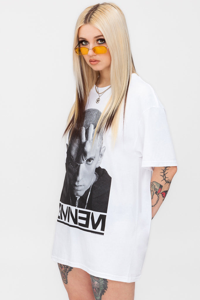 Eminem Finger Horns Tee