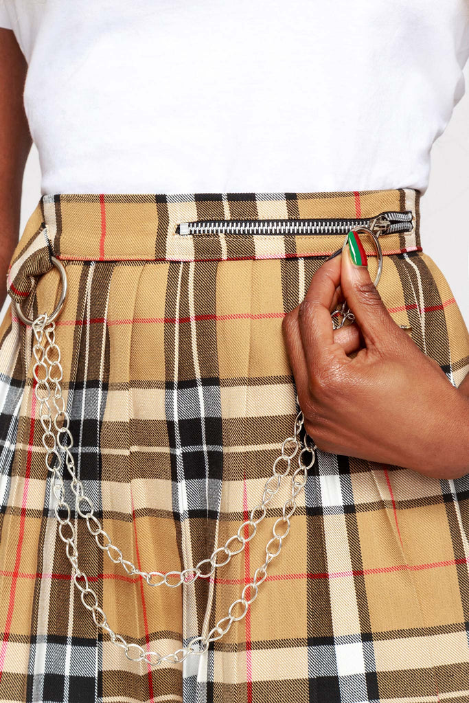 Ashley Pleated Skirt