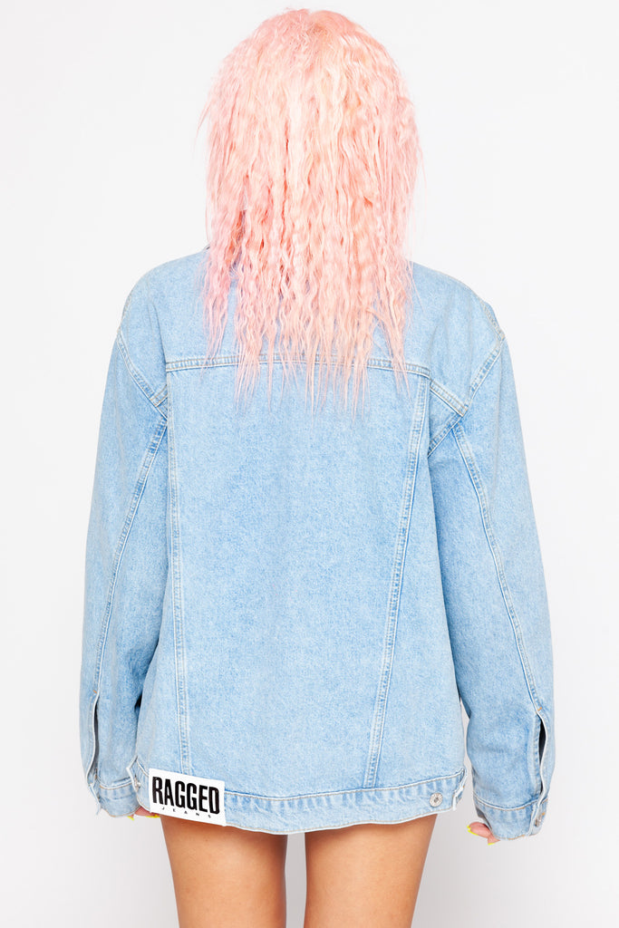 Buddy Denim Jacket Light Blue
