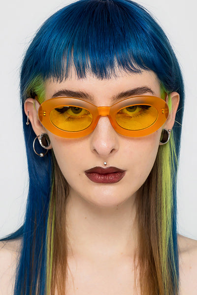 Bee Oval Sunglasses