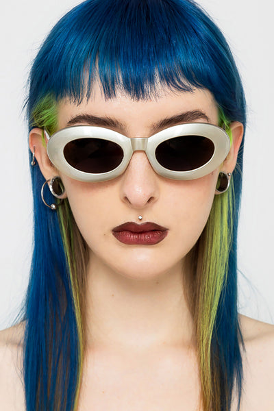 Space Babe Oval Sunglasses