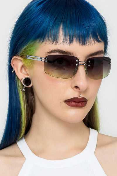 Kush Rimless Sunglasses