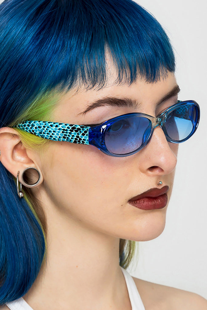 Serpent Oval Sunglasses