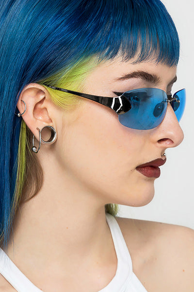Cloud 9 Rimless Shield Sunglasses