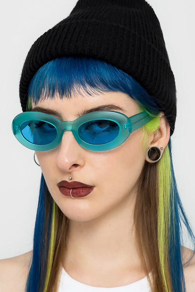 Sky Oval Sunglasses
