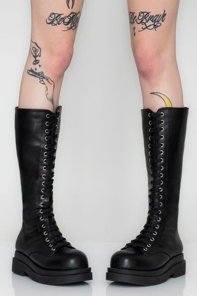 Riverworld Lace Up Boots