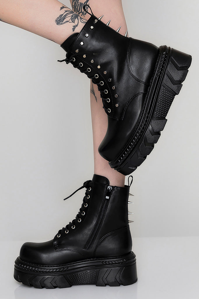 Shout Louder Spike Stomper Boots