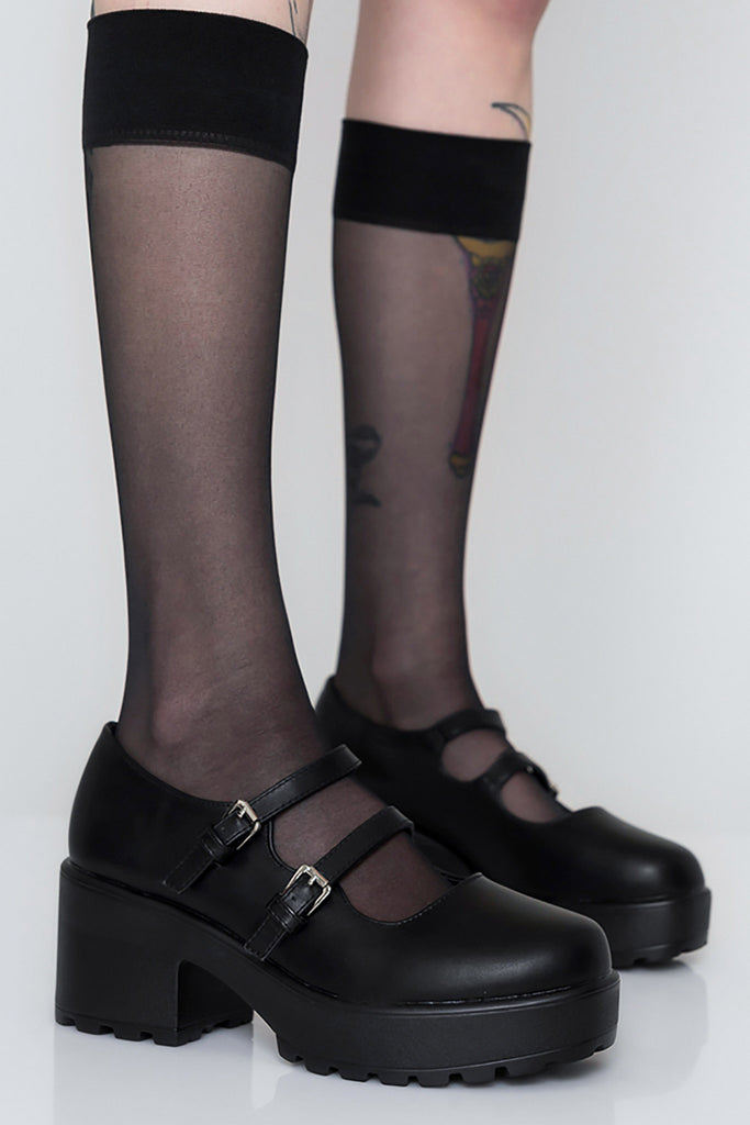Dollhaus Double Strap Mary Janes