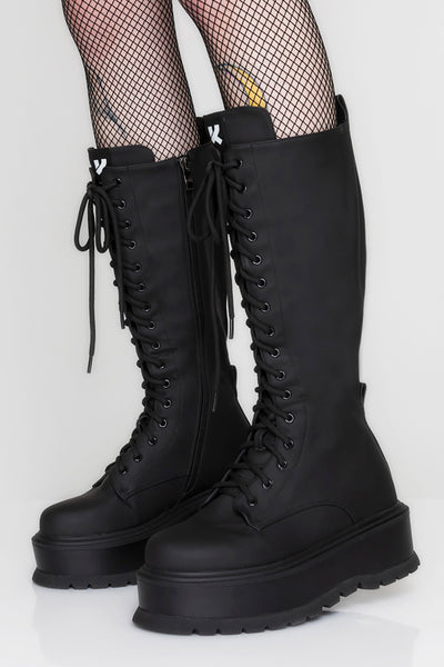 Klub Kid Lace Up Boots