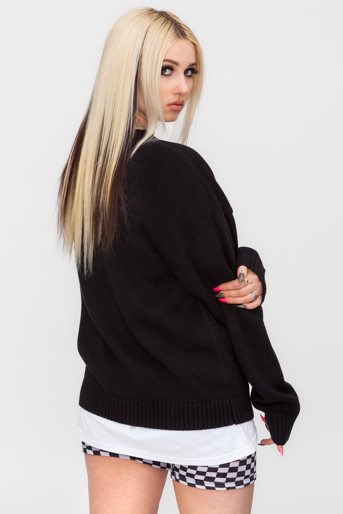 Undone Knit Sweater
