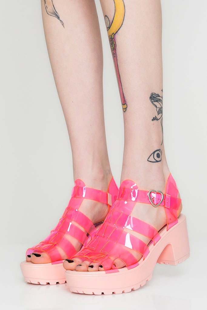 Lovegame Jelly Sandals