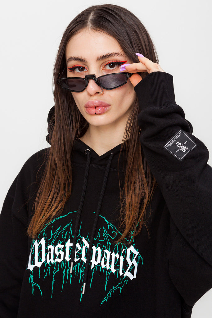 Dark Bridge Hoodie Black