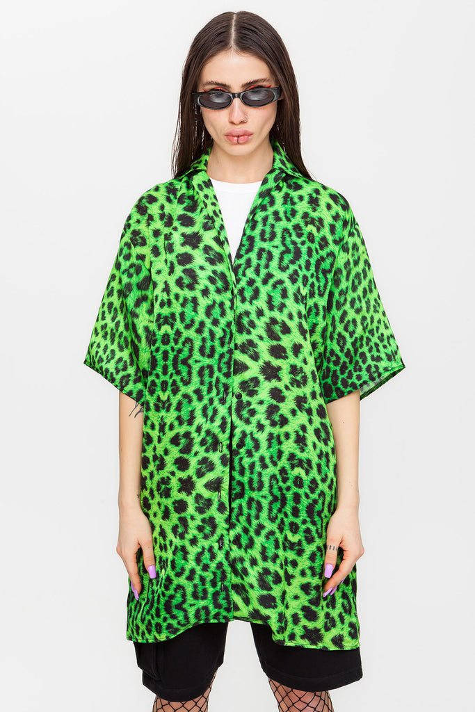 Panther Shirt Dress