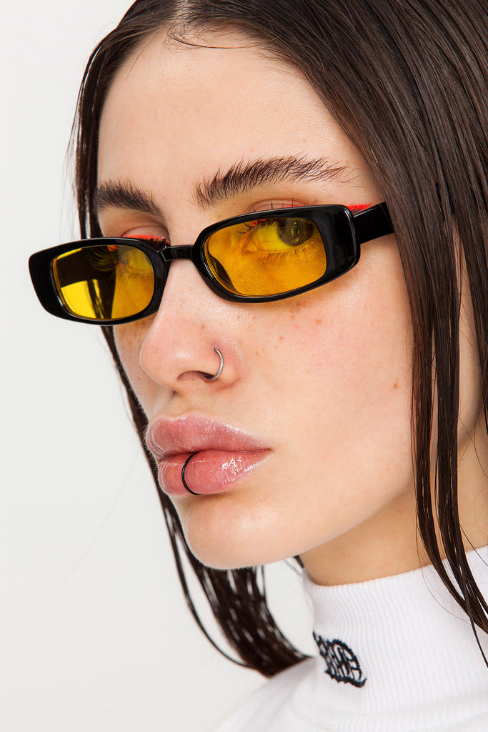 Wiz Bish Black N' Yellow Sunglasses