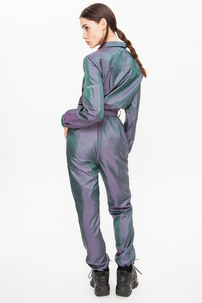 Two Tone Iridiscent Jumpsuit