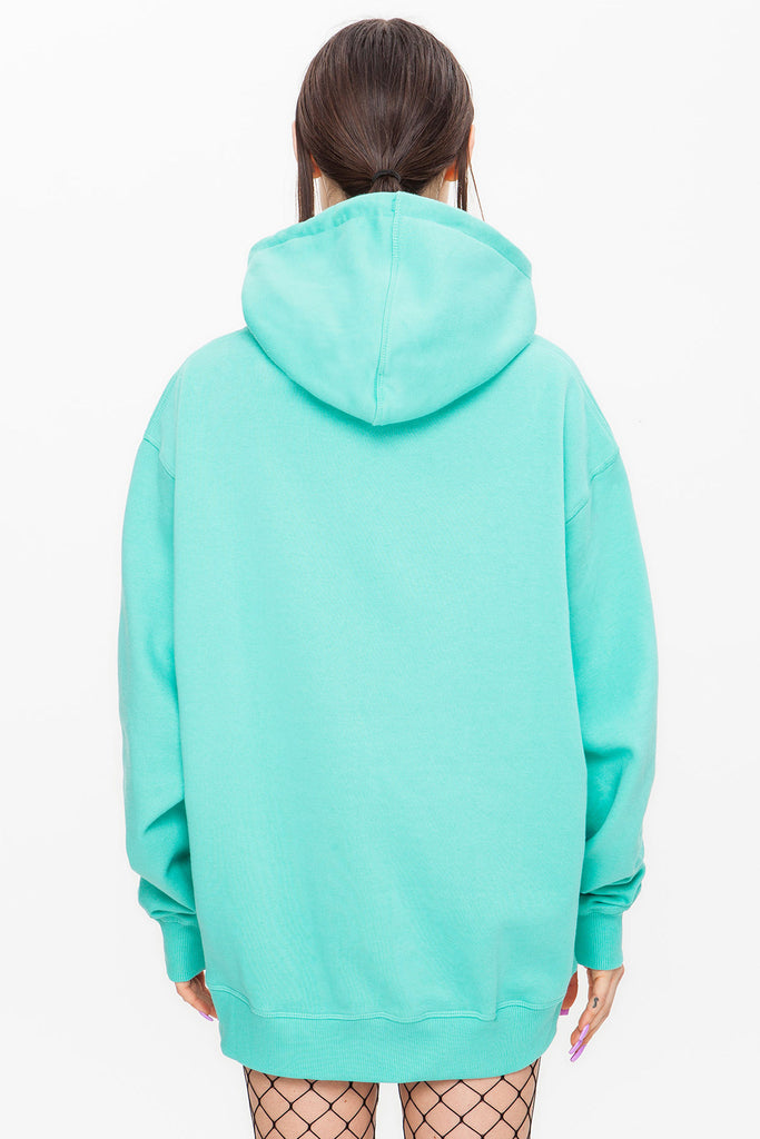 Dark Bridge Hoodie Mint