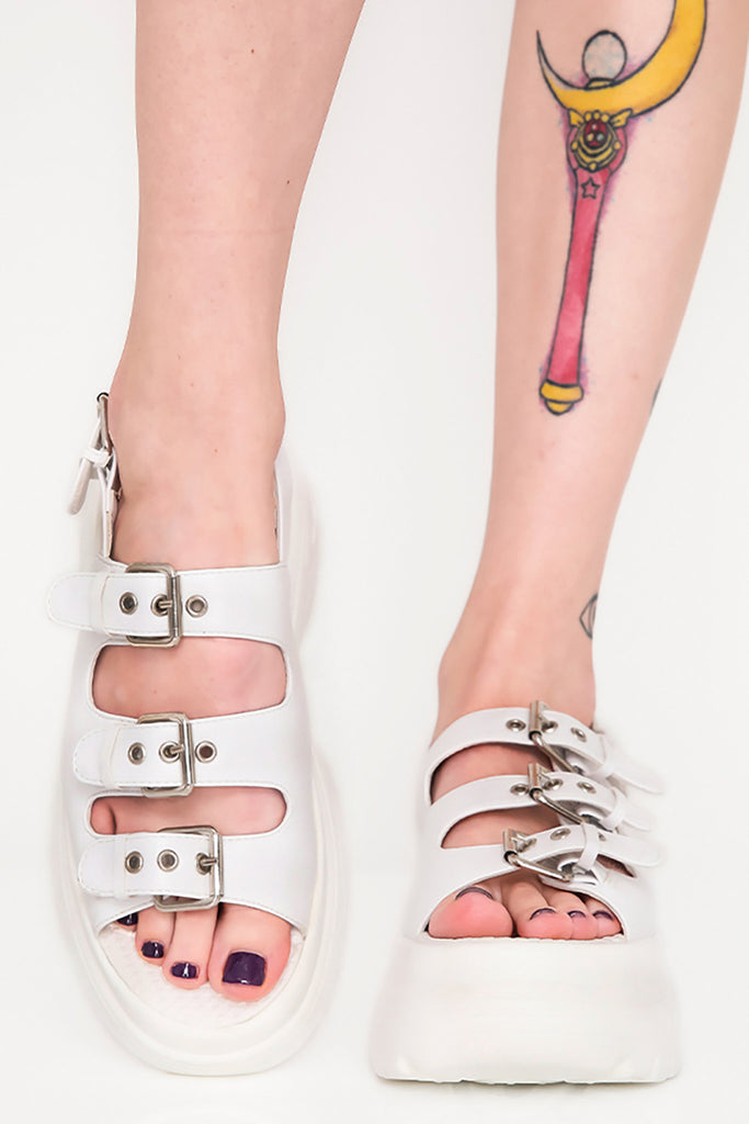 Pure Scandalous Chunky Platform Sandals
