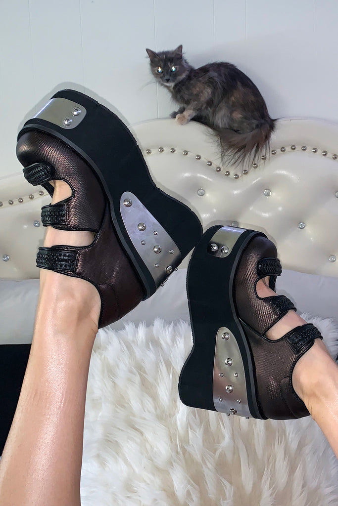 Heavy Metal Ho Platform Mary Janes