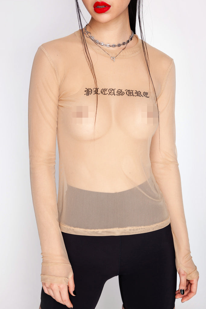 Hardcore Pleasure Mesh Top
