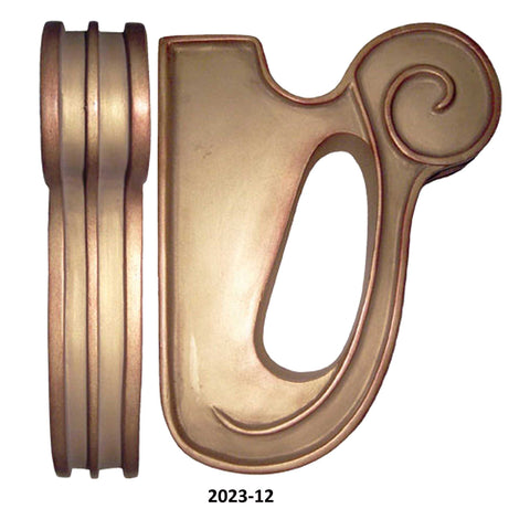"Seymour Drapery Bracket for 1 3/8"" Poles or Fabric"