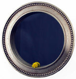 Mirror - Large Beaded <BR> 11.375 DIA x 1.25D