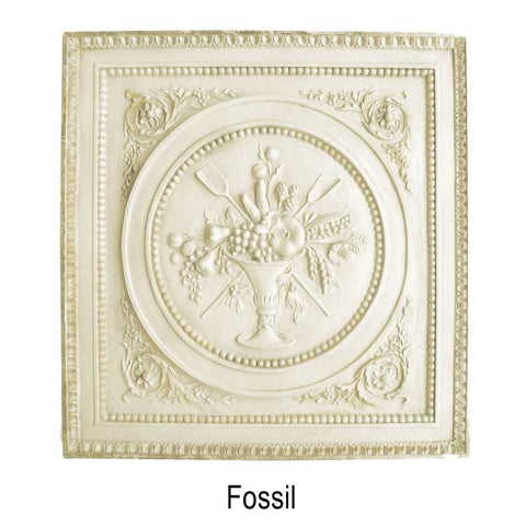 Decorative Banana Plaque <BR> 16.875H x 16.25W x 1.125D