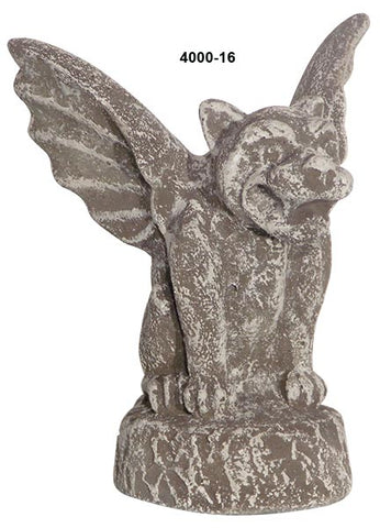 Gargoyle with Wings <BR> 6H x 5.5