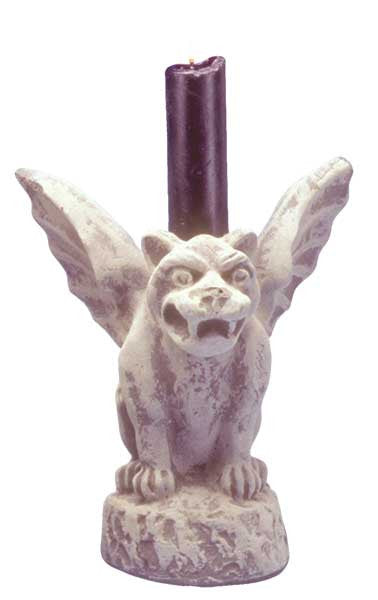 Gargoyle: Candle Holder <BR>  6H x 5.5